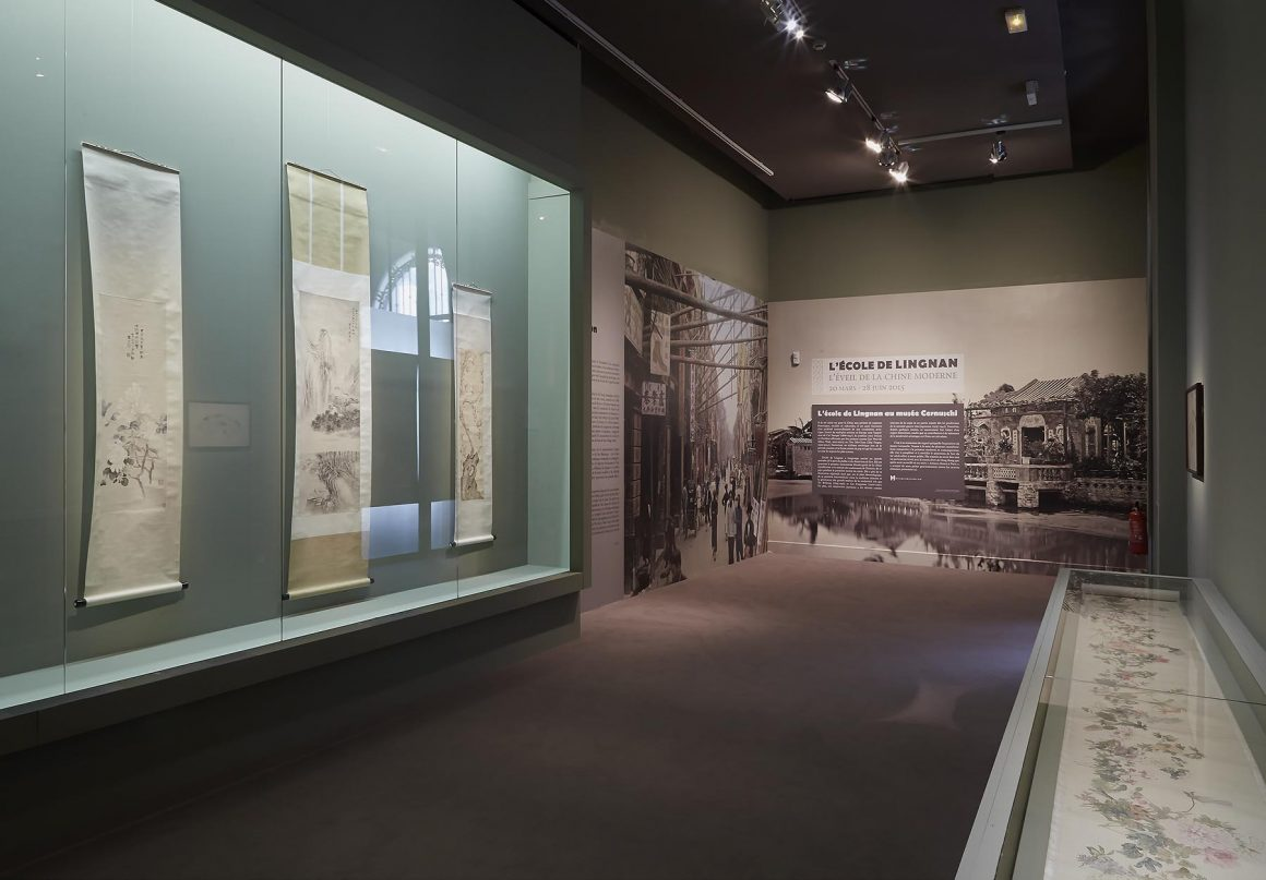 Musée Cernushi-exposition'Ecole de Lingnan'-07